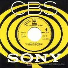 Discos de vinilo: B.G. THE PRINCE OF RAP ··· GIVE ME THE MUSIC - (SINGLE 45 RPM) ··· NUEVO. Lote 20313795