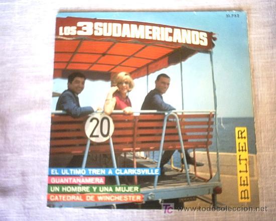 LOS 3 SUDAMERICANOS 1967 (Música - Discos - Singles Vinilo - Grupos y Solistas de latinoamérica)