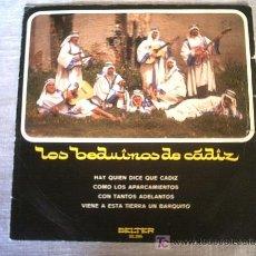 Discos de vinilo: LOS BEDUINOS DE CADIZ 1971. Lote 3414184