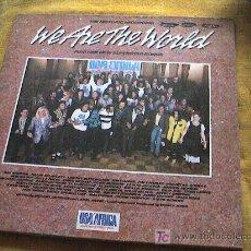 Discos de vinilo: DISCO LP WE ARE THE WORLD. Lote 3425440