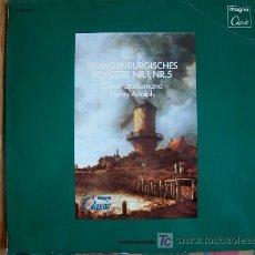 Discos de vinilo: BACH - CONCIERTOS DE BRANDEMBURGO Nº 1 Y 5. Lote 3439830