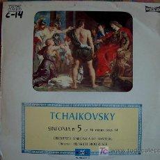 Discos de vinilo: TCHAIKOVSKY - SINFONIA Nº 5 EN MI MENOR, OPUS 64. Lote 3440638