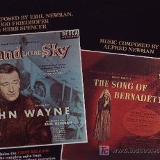 Discos de vinilo: INFIERNO BLANCO-ISLAND IN THE SKY JOHN WAYNE BANDA SONORA ORIGINAL-MUS.H.FRIEDHOFER ALFRED NEWMAN. Lote 8650605