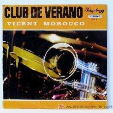 Discos de vinilo: VICENT MOROCCO Y SU ORQUESTA ··· CLUB DE VERANO - (LP 33 RPM - 10 PULGADAS). Lote 20477483