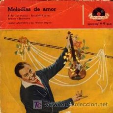 Discos de vinilo: HELMUT ZACHARIAS Y SUS VIOLINES MAGICOS ··· PARLEZ MOI D'AMOUR / TEN PIEDAD DE MI... - (EP 45 RPM). Lote 20496642