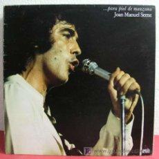 Discos de vinilo: JOAN MANUEL SERRAT ( ...PARA PIEL DE MANZANA ) 1975 LP33. Lote 3468817