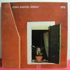 Discos de vinilo: JOAN MANUEL SERRAT ( JOAN MANUEL SERRAT 1978 ) 1978 LP33. Lote 3468849