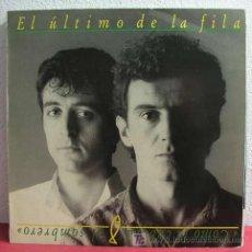 Discos de vinilo: EL ULTIMO DE LA FILA ( COMO LA CABEZA AL SOMBRERO ) 1988 LP33. Lote 3490428
