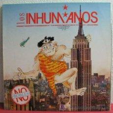Discos de vinilo: LOS INHUMANOS ( NO PROBLEM ) 1990 LP33. Lote 3490606
