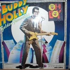 Discos de vinilo: BUDDY HOLLY ----- GOLDEN FAVORITES. Lote 25234462