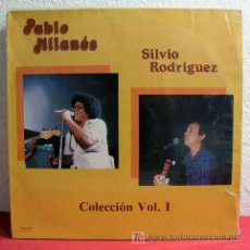 Discos de vinilo: PABLO MILANES / SILVIO RODRIGUEZ COLECCION VOL. I 1987 LP33. Lote 3520066