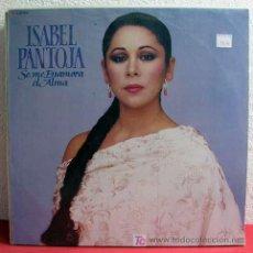 Discos de vinilo: ISABEL PANTOJA ( SE ME ENAMORA EL ALMA ) MEXICO-1989 LP33. Lote 3522611