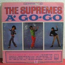 Discos de vinilo: THE SUPREMES ( SUPREMES A' GO GO ) USA-1966 LP33 MOTOWN RECORDS. Lote 3526420