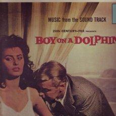 Discos de vinilo: LA SIRENA Y EL DELFIN -BOY ON A DOLPHIN-DISCO LP BANDA SONORA MUSICA HUGO FRIEDHOFER. Lote 8650616