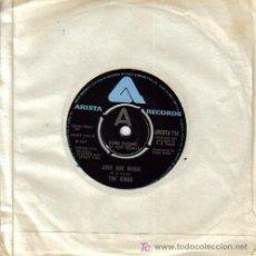 Discos de vinilo: THE KINKS-JUKE BOX MUSIC + SELEEPLESS NIGHT SINGLE VINILO ARISTA EN 1977 SIN PORTADA (INGLES) B-B. Lote 3550244