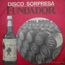 Discos de vinilo: LOTE 6 DISCOS SORPRESA FUNDADOR. 1967. Lote 53751093