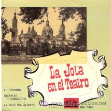 Discos de vinilo: LA JOTA EN EL TEATRO - ORQUESTA SINFONICA ESPAÑOLA. Lote 10608448