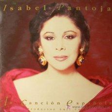 Discos de vinilo: LA CANCION ESPAÑOLA .... ISABEL PANTOJA ALBUM DOBLE PORTADA 2 LP. Lote 51043273