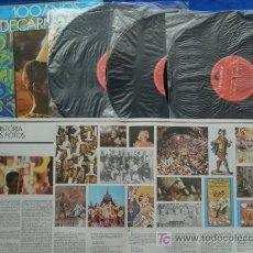 Discos de vinilo: 100 AÑOS DE CARNAVAL-BANDA DO CANECAO-POLYDOR 1974 ESTEREO ALBUM DE 3 LP. Lote 5717808