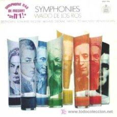 Discos de vinilo: WALDO DE LOS RIOS ··· SYMPHONIES - (LP 33 RPM). Lote 20477554