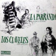 Discos de vinilo: ZARZUELA ··· LOS CLAVELES / LA PARRANDA · (LP 33 RPM). Lote 21526579