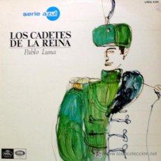 Discos de vinilo: ZARZUELA ··· LOS CADETES DE LA REINA · (LP 33 RPM). Lote 21526674