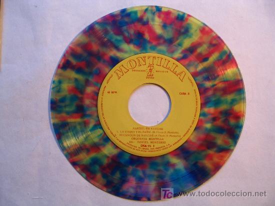 MARISOL EN NAVIDAD. VILLANCICOS . ( MONTILLA / ZAFIRO 1960) . VINILO COLOR (Música - Discos - Singles Vinilo - Solistas Españoles de los 50 y 60)