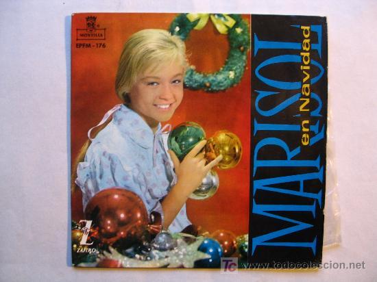 Discos de vinilo: MARISOL EN NAVIDAD. VILLANCICOS . ( MONTILLA / ZAFIRO 1960) . VINILO COLOR - Foto 2 - 27584961