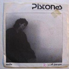 Discos de vinilo: PISTONES - NADIE/ EL PARQUE- ARIOLA 1983. Lote 26403432