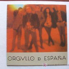 Discos de vinilo: ORGULLO DE ESPAÑA - MINI LP - TWINS 1985. Lote 26534317