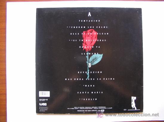 Discos de vinilo: LA UNIÓN - 3 DISCOS: HOT ACID / 4X4/ TENTACIÓN - WEA - Foto 4 - 26381115