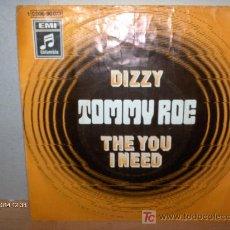 Discos de vinilo: TOMMY ROE ---- DIZZY. Lote 25998235