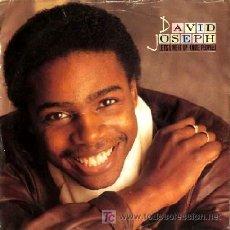 Discos de vinilo: DAVID JOSEPH ··· LETS LIVE IT UP (NITE PEOPLE) · (SINGLE 45 RPM). Lote 22482689