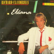 Discos de vinilo: ELEANA / RICHARD CLAYDERMAN .. LP. Lote 5561629