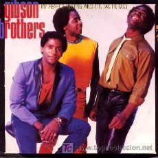 Discos de vinilo: GIBSON BROTHERS ··· MY HEART'S BEATING WILD (TIC TAC TIC TAC) - (SINGLE 45 RPM). Lote 22460056
