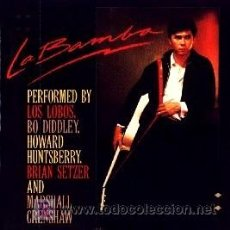 Discos de vinilo: LA BAMBA ··· BANDA SONORA ORIGINAL- (LP 33 RPM). Lote 22580460