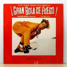 Discos de vinilo: JERRY LEE LEWIS ··· GRAN BOLA DE FUEGO - (LP 33 RPM). Lote 22580513