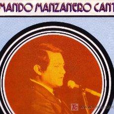 Discos de vinilo: ARMANDO MANZANERO CANTA. Lote 25648164