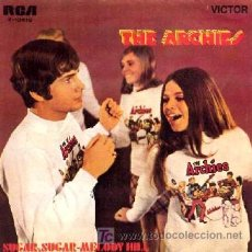 Discos de vinilo: THE ARCHIES ··· JINGLE JANGLE / JUSTINE · (SINGLE 45 RPM). Lote 22738820
