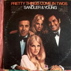 Discos de vinilo: LP - TONY SANDLER AND RALPH YOUNG - PRETTY THINGS COME IN TWOS - ORIGINAL AMERICANO, CAPITOL RECORDS. Lote 3756662