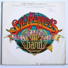 Discos de vinilo: SGT. PEPPERS – LONELY HEARTS CLUB BAND · (2 LPS 33 RPM) ··· EDICION USA (1978). Lote 22887493
