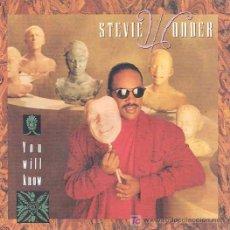 Discos de vinilo: STEVIE WONDER - YOU WILL KNOW / INSTRUMENTAL. Lote 3769016