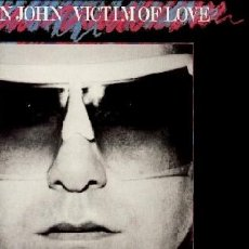 Discos de vinilo: ELTON JOHN ··· VICTIM OF LOVE · (LP 33 RPM) ··· NUEVO. Lote 23393172