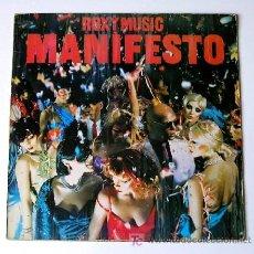 Discos de vinilo: ROXY MUSIC ··· MANIFESTO - (LP 33 RPM). Lote 22950058