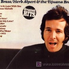 Discos de vinilo: HERB ALPERT & THE TIJUANA BRASS ··· SOLID BRASS - (LP 33 RPM) ··· NUEVO. Lote 20477489