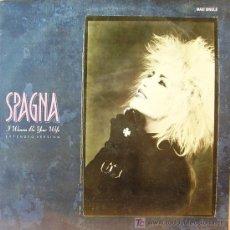 Discos de vinilo: SPAGNA-I WANNA BE YOUR WIFE + WOMAN IN LOVE MAXI SINGLE CBS EN 1988 RARE PROMOCIONAL SPAIN B-B. Lote 3786478