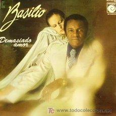 Discos de vinilo: BASILIO-DEMASIADO AMOR LP PORTADA DOBLE EDITADO POR NOVOLA EN 1977 RARO EX-EX. Lote 3786489