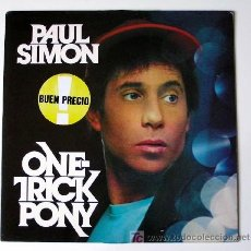 Discos de vinilo: PAUL SIMON ··· ONE-TRICK PONY - (LP 33 RPM). Lote 22918241