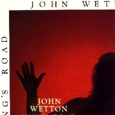 Discos de vinilo: JOHN WETTON (EX - KING CRIMSON) ··· KING'S ROAD 1972-1980 - (LP 33 RPM) ··· NUEVO. Lote 22918774
