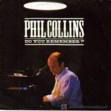 Discos de vinilo: PHIL COLLINS-DO YOU REMEMBER + AGAINST ALL ODDS SINGLE EDITADO EN FRANCIA POR WEA EN 1990. Lote 3795939